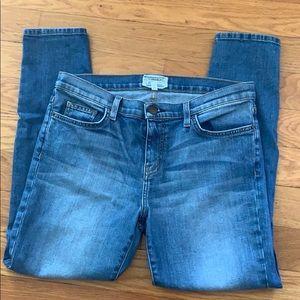 Current/Elliott stiletto skinny jeans 31